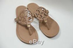 #345 Tory Burch Miller Flip Flop Sandals Size 9 M Makeup Color