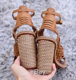 $350 TORY BURCH Pecha Woven Sandals Sz 6.5 NEW