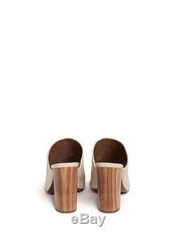 $375 New TORY BURCH RAYA MULE sandals shoes dulce De Leche Cream Lt Beige 9.5