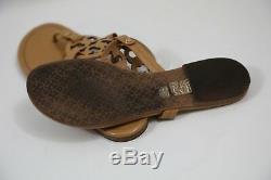 #85 Tory Burch Miller Patent Flip Flop Sandals Size 9 M