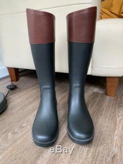Authentic Tory Burch Classic Rain Boots Size 10
