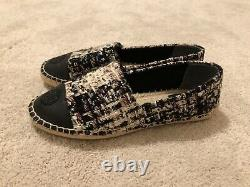 BRAND NEW Womens Tory Burch Color Block Flat Espadrille Shoes Size 7