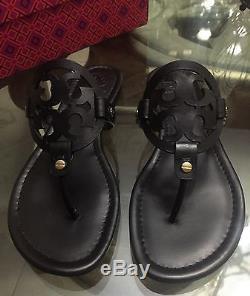 Brand New Tory Burch Miller Sandal Size 10.5 Black