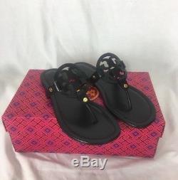 Brand New Tory Burch Miller Sandal Size 7.5 Black