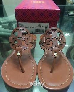 Brand New Tory Burch Miller Sandal Size 7.5 Vintage Vachetta