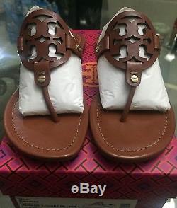 Brand New Tory Burch Miller Sandal Size 7 Vintage Vachetta
