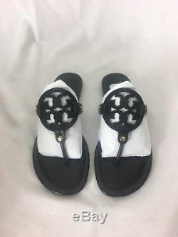 Brand New Tory Burch Miller Sandal Size 8 Black