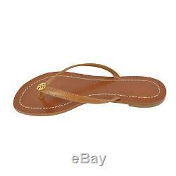 NEW Tory Burch Terra Thong Sandals in Royal Tan 7