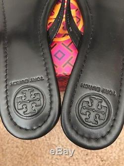 NIB TORY BURCH Black Miller Thong Sandals CHOOSE YOUR SIZE