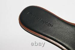NIB TORY BURCH Ines Slide Sandals shoes in MALACHITE PERFECT NAVY Size 9