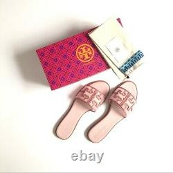NIB TORY BURCH Ines Slide Sandals shoes in Seashell Pink Size 8