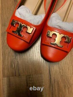 NIB Tory Burch Gigi Pump Shoe in Samba Size 9.5