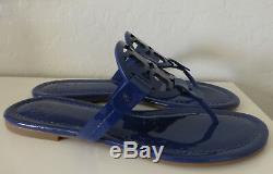 NIB Tory Burch Miller Sandal Bright Indigo Blue Size 10.5 New In Box #51394