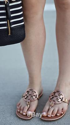 NIB Tory Burch miller sandals. Size 8.5 rose gold color