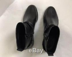 NWB Tory Burch Colton Flat Bootie Galleon Leather, SZ 8.5 Black # 50903