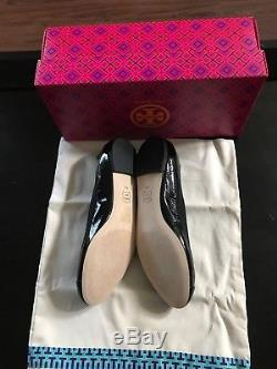 NWB Tory Burch Jolie Ballet Soft Naplak/ Elastic Flat Size 9