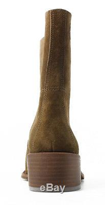New Tory Burch Womens Siena Brown Fashion Boots Size 8