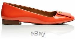 Nwob New Tory Burch Poppy Red Orange Yardley 15m Size 11 41