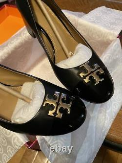 TB Every 50MM /Black Pump/NapaLeather/PatentLeather Shoes/size 7 8