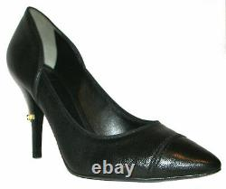 TORY BURCH Black Leather High Heels Shoes 8M