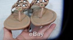 TORY BURCH MAKE UP MILLER SANDAL LEATHER Size 7 M Good