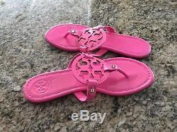 TORY BURCH Miller Pink Flip Flop Size 10 New