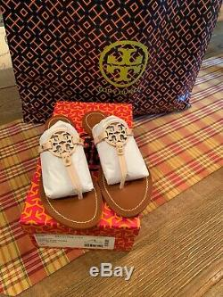 TORY BURCH Mini Miller/Gabriel Thong Sandals Ballet Pink Size 7.5
