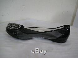 TORY BURCH Reva Audrey Transparent Ballet Flats Women's Shoes Size 9.5 M