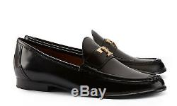 TORY BURCH Townsend Loafers Glossy Black 7.5 NIB