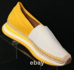 Tory Burch 53602 Daisy Slip-On Espadrille Trainer Loafer Shoes Women's US 8.5M