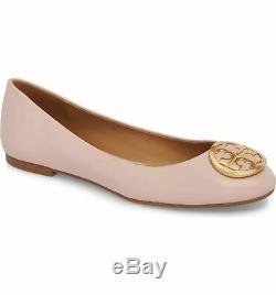 Tory Burch Benton Ballet Flats Shoes SEA SHELL PINK 11 M