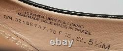Tory Burch Black Leather Wedge Heel Shoes Womens Size 5 ½ M Great Cond
