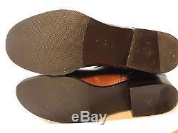 Tory Burch Brita Riding Boots Size 9 Cognac Brown $495 EUC