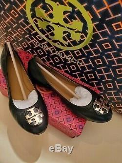 Tory Burch Claire Ballet Flats/shoessz 7perfect Blacknew In Box Retail$229