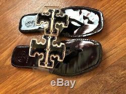 Tory Burch Clear Sandals Black White 7