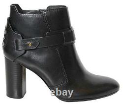 Tory Burch Colton 85MM Bootie Women's Leather Heel Shoes 50902 SIZE 6.5