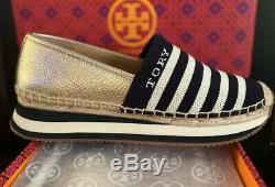 Tory Burch Daisy Slip-On Trainer Tech Knit Logo Shoe NEW NIB $248 Size 7.5