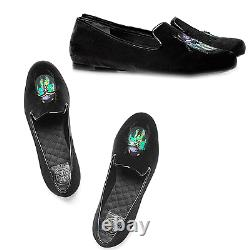 Tory Burch EASTON Black Velvet Loafers Flats Ballet Pump Ballerina Shoe 5 Bugs