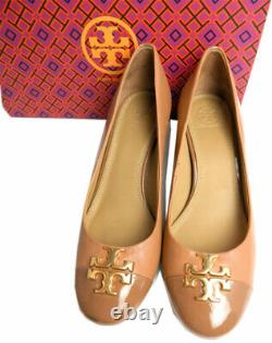 Tory Burch Everly Cap Toe Pumps Leather Cap Toe Pump 7.5 Shoes 37.5