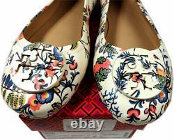 Tory Burch Flats Minnie Reva Ballerina Floral Gabriella Ballet Shoes 10.5