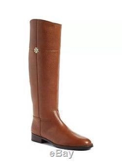 Tory Burch Jolie Rustic Brown Riding Boot NIB / Dust Bag Size 8.5