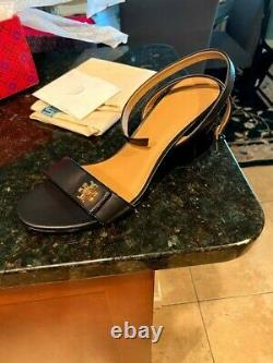 Tory Burch Kira Sandals Size 10 - new with box, bag, shoe canvas all included