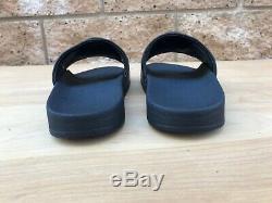 Tory Burch Lina Slide Sandals, Black Leather, Sz 10 M