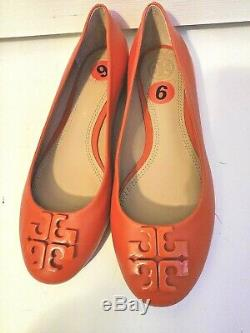 Tory Burch Lowell 2 Samba Ballet Flats Shoes Size 6 NWOB $250