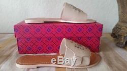 Tory Burch Melinda Slide Sandal Veg Leather Dulce De Leche Size 8 Nwb