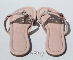 Tory Burch Miller Blush Patent Leather Flip Flop Sandals Womens Size 6 M