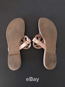 Tory Burch'Miller' Flip Flop Leather (Women) Make Up Color Sz 6 1/2M