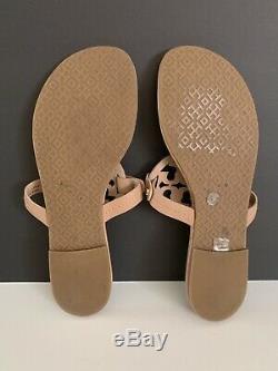 Tory Burch'Miller' Flip Flop Leather (Women) Makeup Color Size 8 M