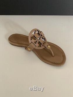 Tory Burch'Miller' Flip Flop Leather (Women) Makeup Color Sz 5 1/2M