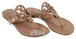 Tory Burch Miller Flip Flop Sandals Makeup Flats Shoes 11 Pre Owned Worn 1 Time